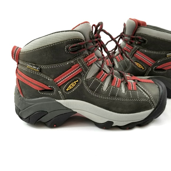 e85eb8d9439 Keen Womens Targhee II Mid Boot Hiking Trail Shoe